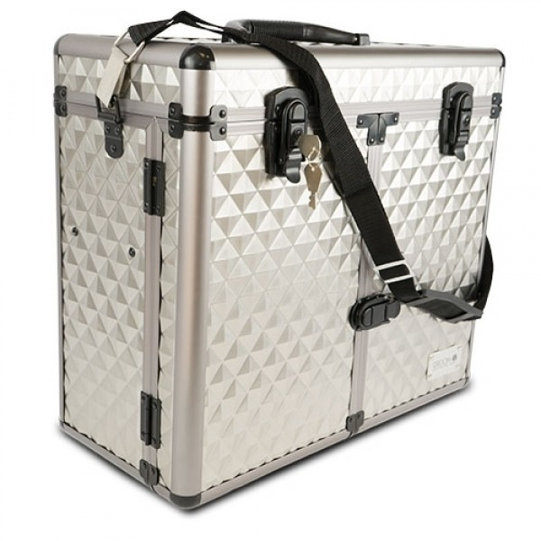 cantidad de ventas plato Disciplinario  Maletín Peluquería Profesional Travel Box Multi compartimentos  Maletín  peluquería aluminio   Comprar Maleta peluquera estética y maquillaje al  mejor precio   Oferta