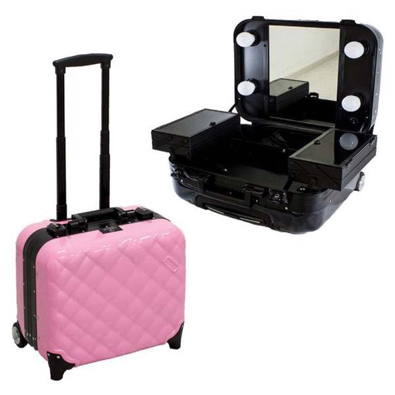 76f13f1c9 MALETA DE MAQUILLAJE CON LUZ | Comprar Maletin de maquillaje TOCADOR ...