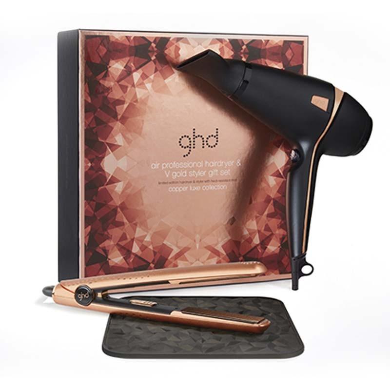 GHD V Copper Luxe+secador ghd air, Comprar la auténtica ghd al ...