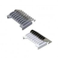 11,85 € PEINE MOSER DESLIZABLES DEGRADADOS 1,5mm y 4,5mm  | Comprar Peines acero cortapelos profesionales baratos | Venta de Peines para Maquinas Cortapelo al Mejor Precio