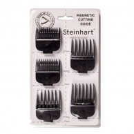 5 Peines Máquina Magnéticos universales steinhart para máquinas cortapelos   recalces metálicos maquinas corta pelo