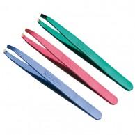 Pinzas Depilar Inox Colores Metalizados