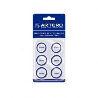 Artero set dedales azules para tijeras 6 unid | Comprardedal para  Tijeras para cortar pelos  | Artero dedal azul  mejor precio
