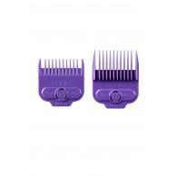 Andis Pack 2 peines intermedios magnéticos nano silver 2.4 y 4.5mm Andis 66560  | Peines recalces para todos las cortapelos Andis