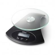 Báscula Precisión Balanza Digital Negra Mate 5 Kg.(1 Gramo) para tintes