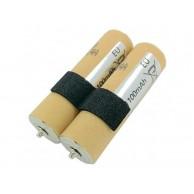 Batería de Repuesto para Cortapelos Panasonic Ni-MH Akku zu ER154 ER1510 ER1511 ER1512