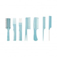 Set de Peines con Funda Perfect Beauty Gea Blue