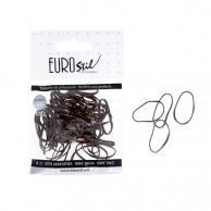 Bolsa 100 gomitas de Tpu para peinados de color negro profesionales peluquería