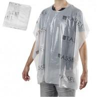 Bolsa 30 Capa  Peinadores Plastico desechables  90 X 118 cm Tassel