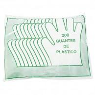 Bolsa de 200 guantes de plástico