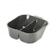 Bowl Mezclador para Tinte Doble 700ml Tuik Negro