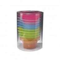 Bowls para Tinte 12 Uds 250ml Bifull de Colores