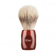 Brocha de Afeitar barbero pelo Caballo Cerdo 24mm Rojo | Comprar brocha afeitar Eurostil | venta de Brochas afeitado barats al Mejor precio | oferta