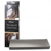 Caja 200 Tiras Papel Mechas PLATA 9,5X30Cm para mechas y tinturas | comprar Tiras Papel Mechas PLATA baratas | mejor precio Tiras Papel Mechas PLATA  para mechas y tinturas
