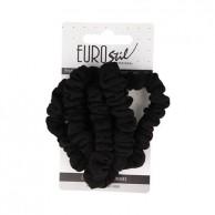 Cartón 5 coleteros ropa color negros resistentes especial peluquerias