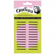 Carton 24 Miniclips 2,5 Cm. Negros peluquería | Comprar clips para el pelo baratos | Clips peluquería al mejor precio | Venta de clips para el pelo profesionales | clips para el cabello barato