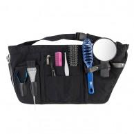 Cinturón porta útiles estuche para herramientas peluquería Nylon Negro 25 X 59 | Comprar Porta Utiles Cintura Nylon Negro herramientas de peluquería  | Cartuchera cintura para peluquería económica mejor precio