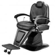 Sillón de Barbero Negro Eurostil Reclinable y Giratorio 03628