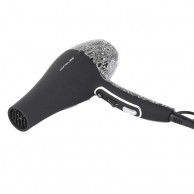 Corioliss Flow Ultra Black Soft Touch Silver Paisley Secador Profesional 2000w