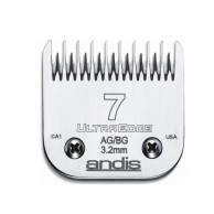 Cuchilla Andis ultradege Blade N7a  3.2 mm Cabezal Andis 64080