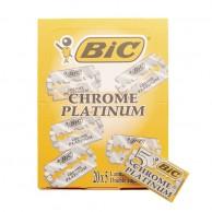 Bic Chrome Platinum Cuchillas de Afeitar 100 uds 20 x 5 hojas