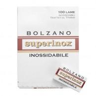 Cuchillas de Afeitar Bolzano SuperInox 100 Unidades