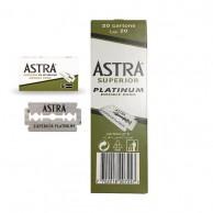 Cuchillas de Afeitar Astra 100 Unidades 20 x 5 Hojas dispensador