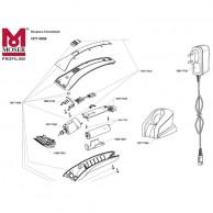 Despiece de Cortapelos Moser CHROM2STYLE Piezas de repuestos