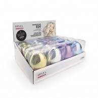 Detangler Egg Chrome Bifull Expositor 16uds Colores Surtidos