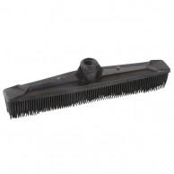 Escoba Goma Negra impieza peluquería y barbería barrer Pelo | Comprar cepillo goma para barrer pelos  |  venta escoba goma para barbería al mejor precio