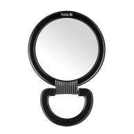 Espejo Doble con Asa grande peluquería y maquillaje | COMPRAR Espejo Negro con asa peluquería y maquillaje grande | MEJOR PRECIO Espejo Negro plegable peluquería y maquillaje