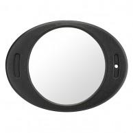 Espejo Ovalado Irrompible peluquería y maquillaje Espejo espuma EVA negro | COMPRAR Espejo Ovalado Irrompible  | MEJOR PRECIO Espejo Espuma