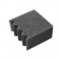 Esponja para neutralizante - Incluye el soporte plástico  Especial para aplicar neutralizante.  Este tipo de esponjas absorben el neutralizante, para poder aplicarlo en el cabello.