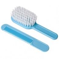 Estuche Cepillo y Peine Azul para Bebés - Eurostil 00670/75