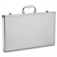 Estuche maletín aluminio profesional Porta Tijeras 20 unidades | Comprar maleta para tijeras | Maletín para transportar tijeras de barbería y peluquería