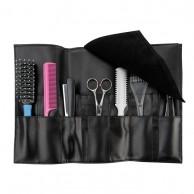 Estuche para herramientas peluquería 7 compartimentos funda porta útiles | Comprar funda herramientas de peluquería  | Estuche para cepilos, peines tijeras peluquería económica mejor precio
