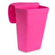 Estuche Utillaje silicona rosa portaútiles Peluquería con ventosa | comprar porta útiles con ventosa peluquería silicona  | Almacenaje de Utillaje de peluquería al mejor precio | Estuche con ventosa para herramientas peluquería