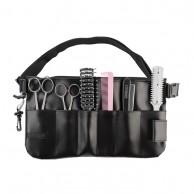 Funda cinturón porta útiles estuche para herramientas peluquería 6 compartimentos
