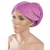 Gorro Toalla para secar cabello Lila | Gorro toalla Barato | venta de gorro toalla Peluquería al Mejor Precio | Oferta