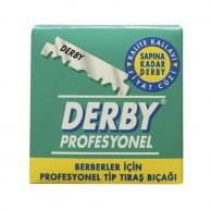 Hojas de Afeitado Derby Medias Hojas 100 Unidades