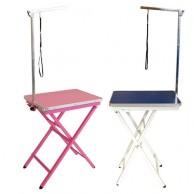 Mesa exposición canina plegable profesional con horca perros pequeños venta mesas exposiciones perros