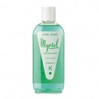 Myrsol - After shave Formula K Mentolada 200Ml | comprar after shave myrsol al mejor precio | distribuidor after shave para profesionales de la barbería y peluquería