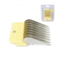 "Oster Recalce Amarillo Claro 16mm 5/8"" Peine separador Metálico para cortapelos"