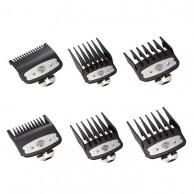 Pack 6 peines metálicos máquina clipper Barber line - Eagle - Falcon | Comprar peines barber line al Mejor Precio | Venta de recalces para Máquinas Barber Line  | Distribuidor Oficial para España barber line | Cortapelo Profesional
