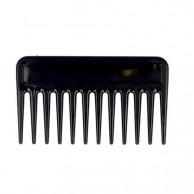 Peine barbero negro ahuecador 6cm x 10,3cm - Ragnar
