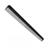 Peine Especial Peluquero Negro - 18 cm - Eurostil 00422