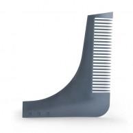 Peine Guía de Plástico para Barba y Bigote Roxe Negro Bifull