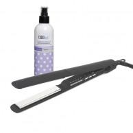 Plancha Corioliss C3 Black Soft Touch+Regalo de Protector Térmico