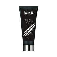Pollié - Acrylic Gel Uñas P-Lack Blanco | gel blanco al mejor precio | gel uñas profesional | pinta uñas para profesionales | uñas acrílicas blanco
