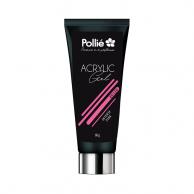 Pollié - Acrylic Gel Uñas P-Lack Rosa Intenso | gel uñas rosa al mejor precio | gel  uñas profesional | pintauñas para profesionales